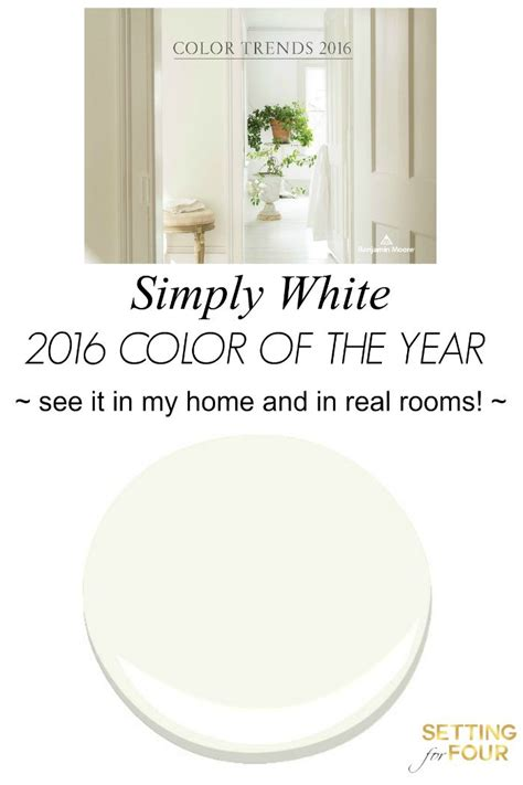 color overview year 2016 benjamin moore and benjamin color of the year 2016 simply white year 2016