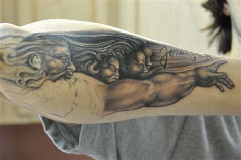 michelangelo tattoo michelangelo pictures to pin on tattooskid