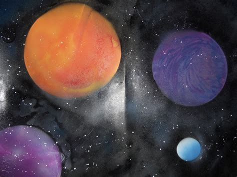 How To Do Spray Paint Space Space Panting Spray Paint