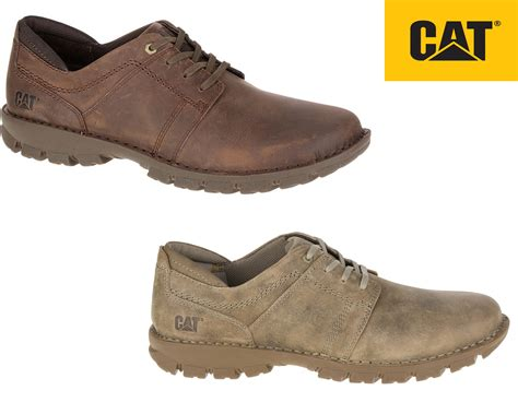 cat shoes caterpillar caden shoes mens leather smart