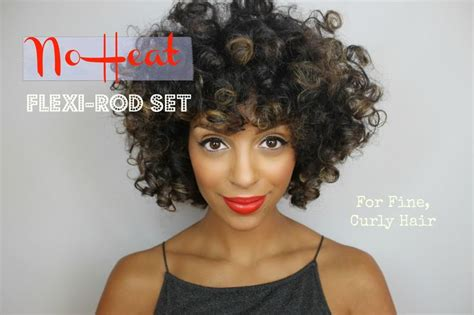 hairstyles for black women no heat 22 best flexi rods images on pinterest natural hair care