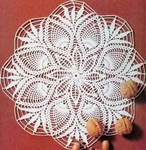 crochet doily patterns crochet art crochet doily free pattern pineapple crochet