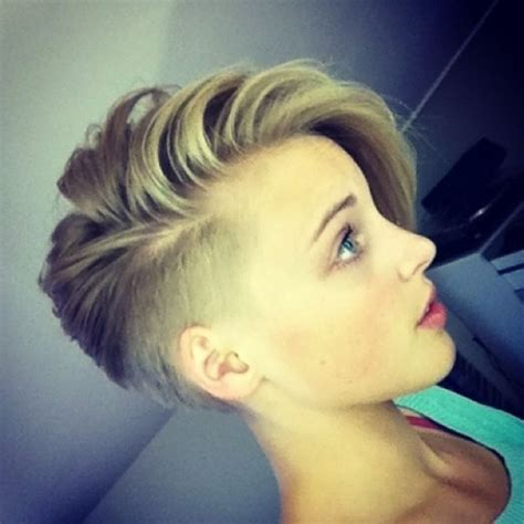 hair style for with one side of short hairstyles for women with shaved side latest women