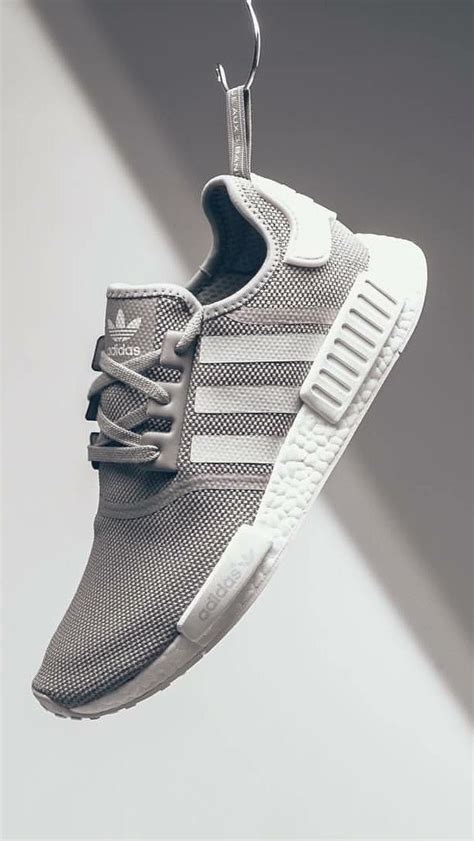 Sepatu Sneakers For Adidas Nmd Runner Greey adidas originals nmd grey sneakers