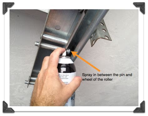 Squeaky Garage Door Fix by Garage Squeaky Garage Door Home Garage Ideas