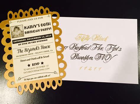 60th birthday invitations ideas golden celebration 60th birthday ideas for