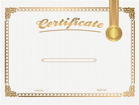 Certificate Templates by Certificate Template Png Transparent Certificate Template