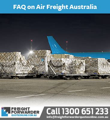 import air freight to australia fast and easy quote tool