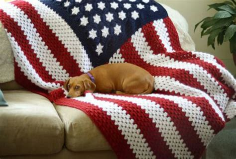 crochet pattern us flag fab fab fabulous fourth of july the sparkly toad