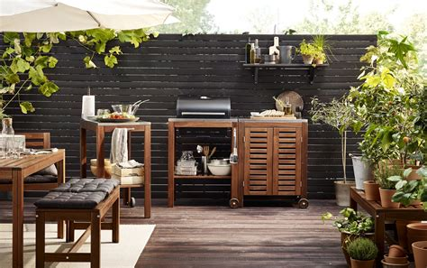 outdoor kitchen furniture outdoor garden furniture ideas ikea