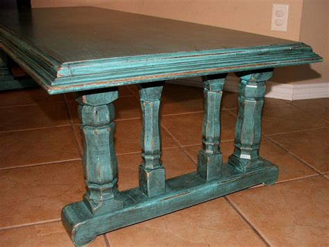 Painted Glazed Distressed Page 41 Of 48 Facelift Distressed Turquoise Coffee Table