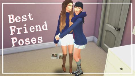 best friend poses my sims 4 best friend poses by waifusims