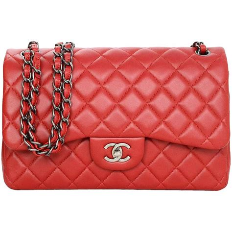 Tas Chanel Jumbo Resissue Black Rhw chanel quilted lambskin leather flap jumbo bag with rhw at 1stdibs