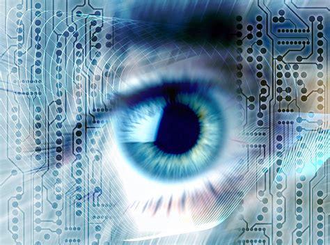 biometric art biometric eye scan photograph by pasieka