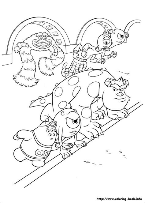 printable coloring pages monsters university monsters university coloring picture