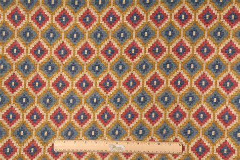 waverly upholstery fabric sales 4 5 yards waverly geo diamond printed cotton drapery