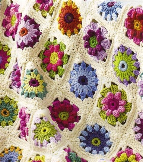 motif afghan pattern crochet rose afghan pattern crochet for beginners