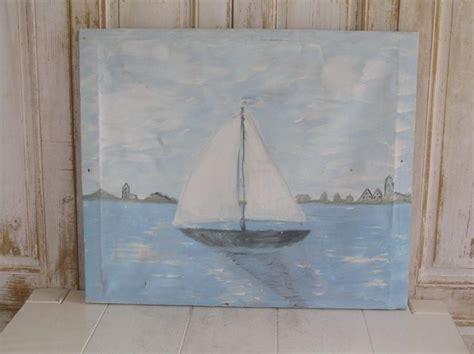 zeilboot voor beginners 25 beste idee 235 n over zeilboot schilderij op pinterest