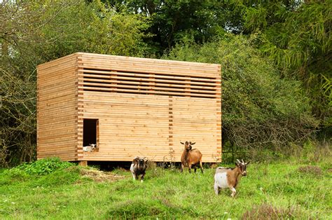 Shed For Goats by Gallery Of Goat Barn In Bavaria K 220 Hnlein Architektur 5