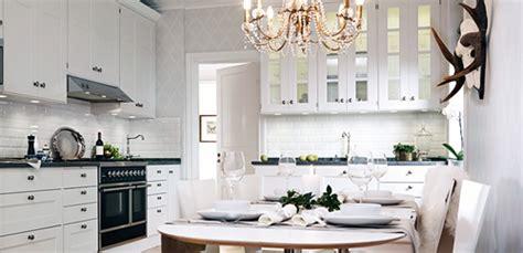decoracion de cocinas en color blanco interiores