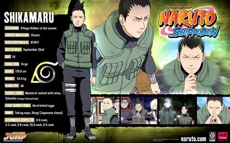 anime info naruto personajes naruto shippuden perfiles wallpaper