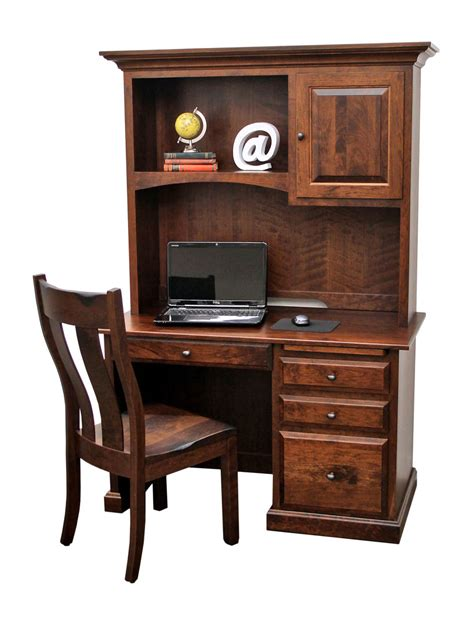 Student Desk With Hutch Traditional Student Desk W Hutch Top Craft Furniture