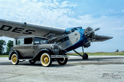 Ford Trimotor by Air Museum Network New Garden Flying Field Receives Eaa