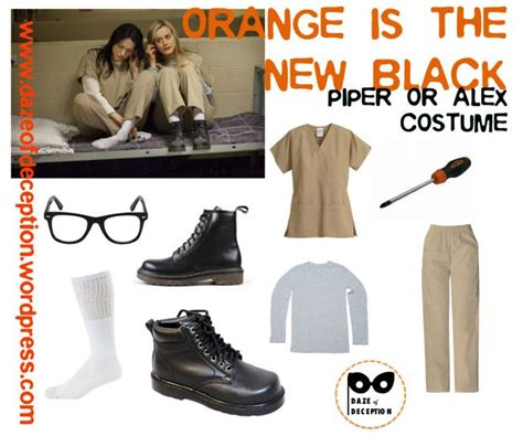 alex vause halloween costumes orange is the new black piper or alex costume idea by www