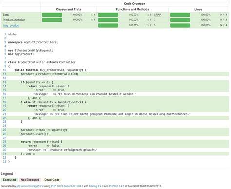 tutorial php unit testing phpunit laravel unit testing in laravel 5 5 unit tests mit phpunit erstellen