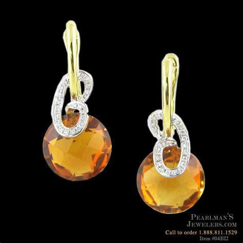 bellarri jewelry citrine and earrings