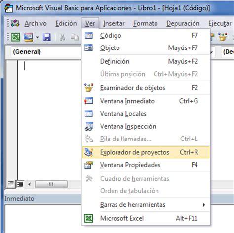 imagenes visual basic excel el editor de visual basic excel total