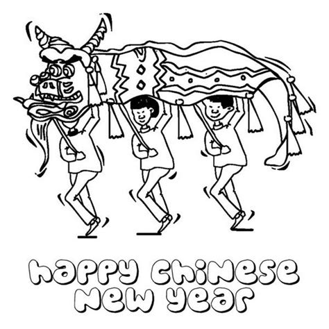 coloring pages of chinese new year chinese new year coloring page coloring home