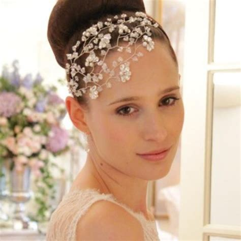 Wedding Hair Accessories High by Tallulah Headdress Swarovski Vintage