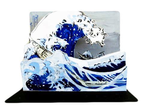 hokusai pop ups 050051884x hokusai pop up courtney watson mccarthy