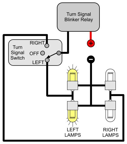 hazard relay wiring diagram for motorcycle hazard wiring