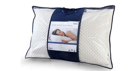 Comfort And Pillow by Tempur Comfort Pillow Feather Black