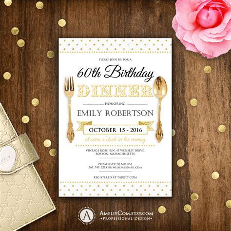 At A Birthday Dinner Who Should Pay For The Meal by Birthday Dinner Invite Printable Birthday Dinner Invitations