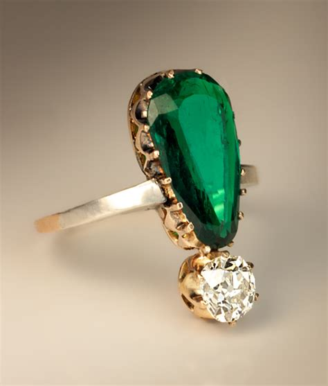 vintage emerald ring 6 jpg antique jewelry vintage