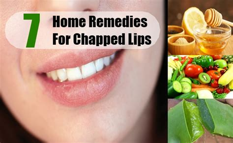 7 home remedies for chapped treatments