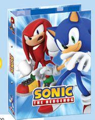 sonic the hedgehog school supplies of the uk