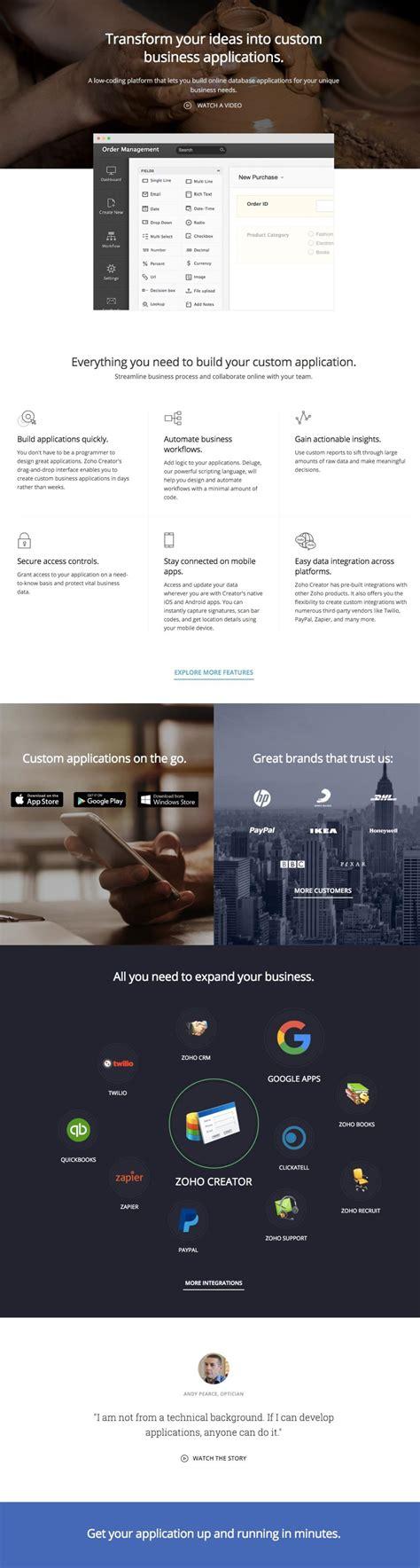 zoho creator templates zoho creator templates gallery template design ideas