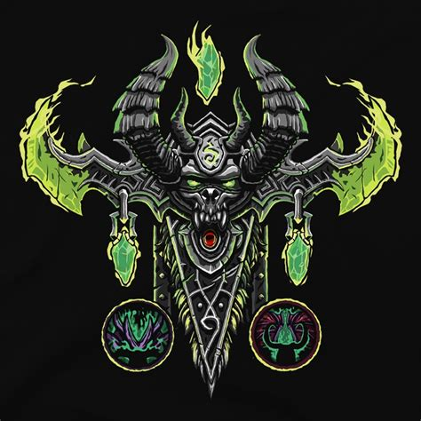 World of Warcraft Legion Demon Hunter Class T Shirt