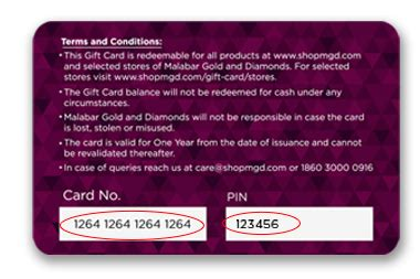 Activate My Gift Card - activate your malabar gold diamonds gift card