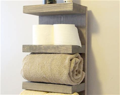 Wall Towel Rack Rolled Towels by Rolled Towel Rack Etsy