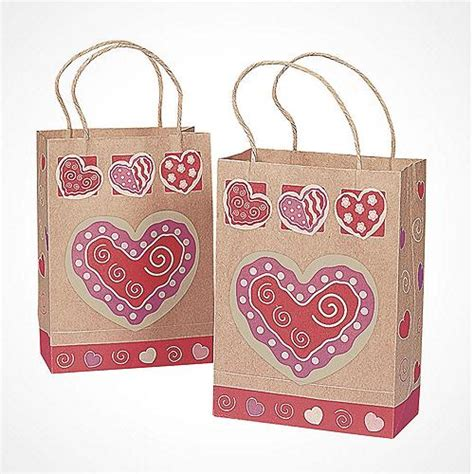 valentines bags 2017 s day supplies crafts cards