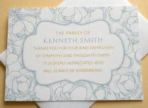 1000 ideas about funeral thank you notes on funeral thank you cards sympathy thank