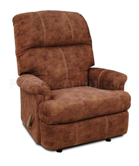 Chocolate Microfiber Recliner by Chocolate Suede Microfiber Modern Recliner