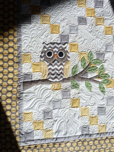 Owl Baby Quilts by Sewing Quilt Gallery Baby Quilts Heading Home