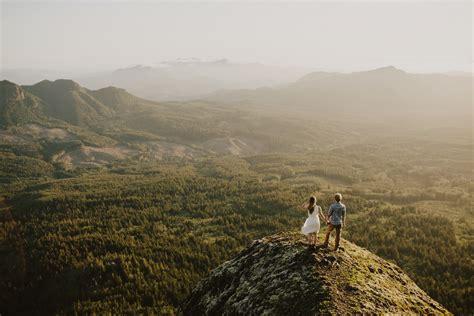 Mountain Top Engagement // Marita and Mark