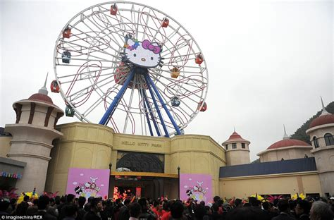 hello kitty theme park china opens hello kitty theme park but it cost 163 210m to